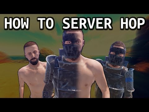 how to server hop without add on