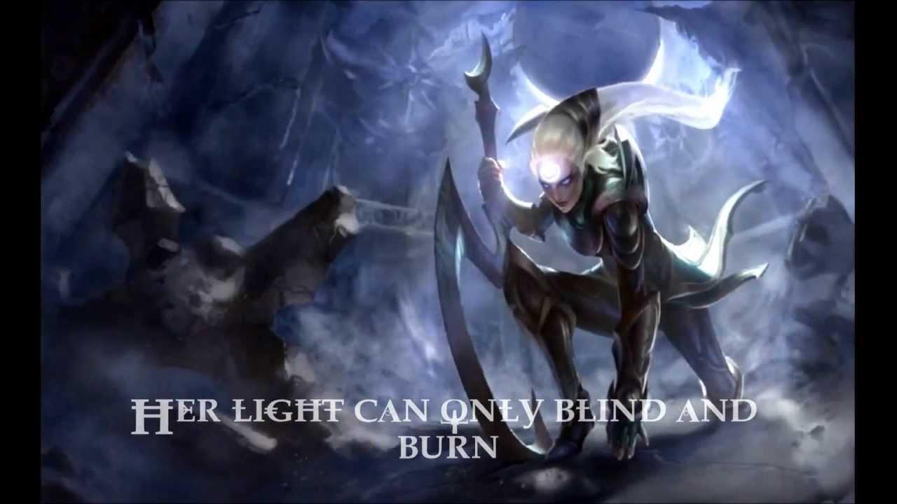 League of Legends Diana Login Screen Song Daylights End ...