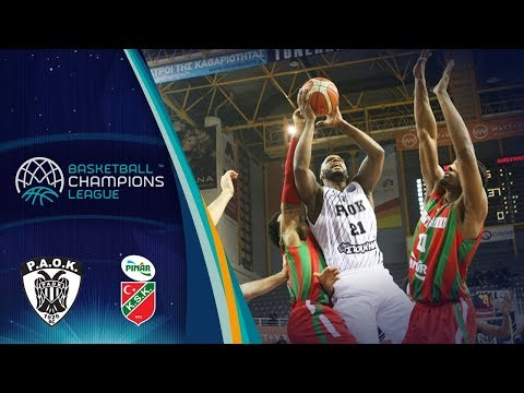 PAOK v Pinar Karsiyaka - Full Game - Round of 16 - Basketball Champions League 2017-18