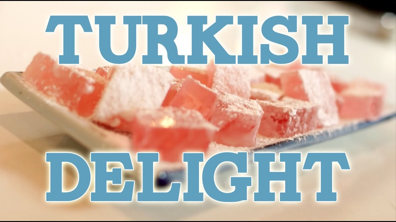 Narnia - Turkish Delight ft Sorted Food! Feast of Fiction ...