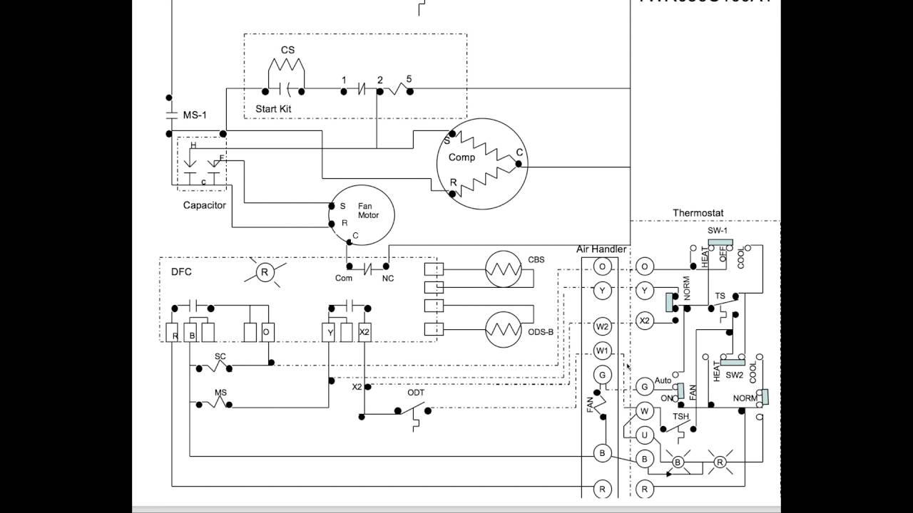 heat pump diagram 4 2d stage heat [ 1280 x 720 Pixel ]