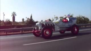 Super Cool Race Car on So. California Freeway