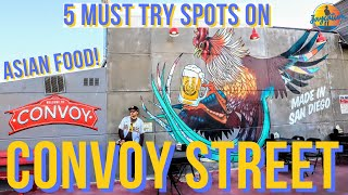 5 MUST TRY Spots on CONVOY STREET - Best Asian Food in San Diego