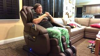 In depth review of Luraco iRobotics 7 Plus massage chair with demo!
