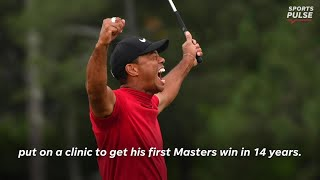 Tiger Woods winning the Masters is a story for the ages