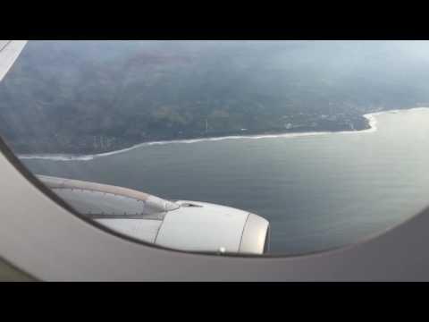 Avianca AV521 A320-214 (N689TA) Landing, taxing at San Salvador Intl. Airport.