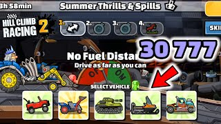 Hill Climb Racing 2 - 30777 points in SUMMER THRILLS & SPILLS Team Event