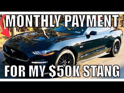 Here's What My 2018 Ford Mustang GT Monthly Payment is, Plus insurance costs!