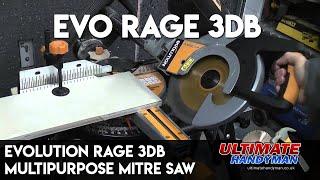 Evolution Rage 3DB multipurpose mitre saw