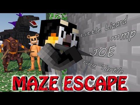 Minecraft FINALE   MAZE CHALLENGE SURVIVAL - ESCAPING Challenge Part 21!