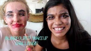 Blindfolded Makeup Challenge!! Thumbnail