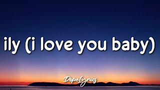 Gambar cover ily | i love you baby - Surf Mesa (Lyrics) feat. Emilee