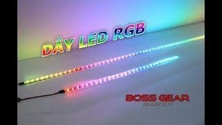 Dây LED RGB Đỉnh Cao Của Sự Màu Mè! LED RGB Trang Trí Thùng PC Gaming