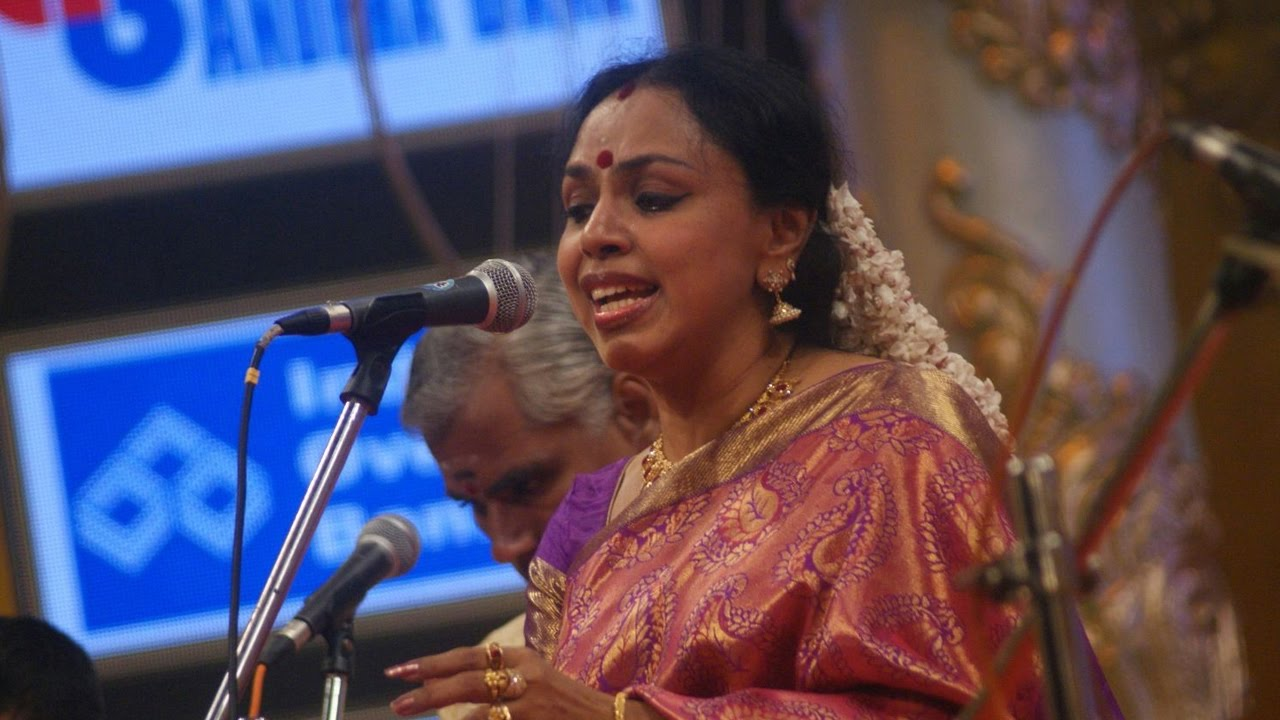 Marathi Abhang - Sudha Raghunathan - Classical Carnatic Music