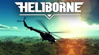 Heliborne | Taktischer Helikopter Luftkampf | Angespielt Let's Play Deutsch Gameplay German thumbnail