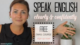 Speak English Clearly & Confidently! thumbnail