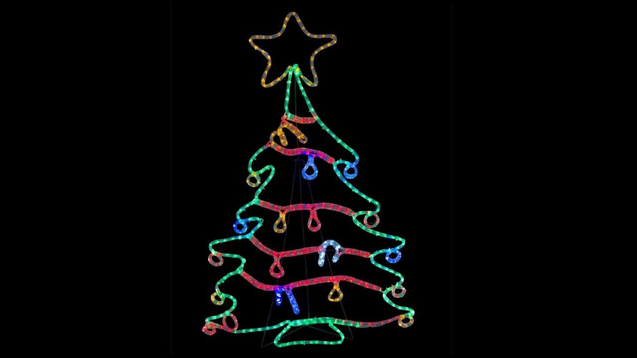 LED Christmas Tree With