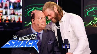 Edge reminds Paul Heyman who he is: WWE Talking Smack, April 10, 2021