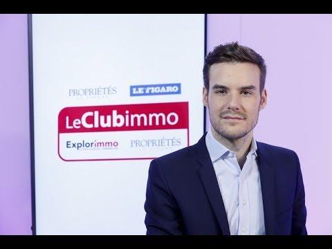 """Club Immo, Robin Rivaton, co-auteur du livre """"L' immobilier demain"""" ( Dunod)"""