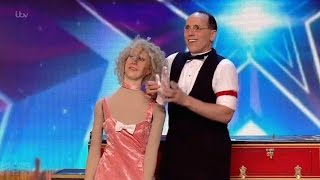 Britain's Got Talent 2016 S10E05 Scott Nelson A Creative Comedic Magician Full Audition thumbnail