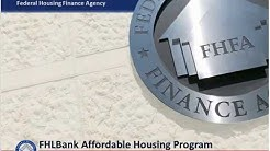 Federal Home Loan Banks' Affordable Housing Program Webinar