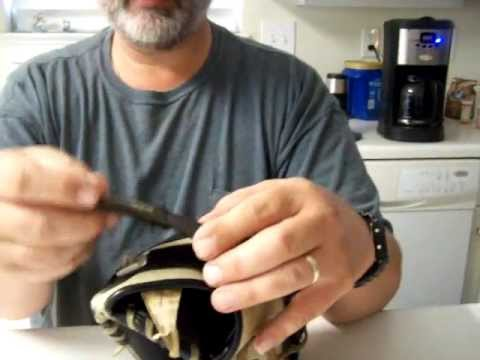 How To Fix Velcro Wrist Strap On A Glove Youtube