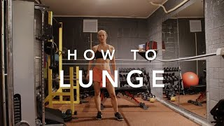 How To Lunge Masterclass