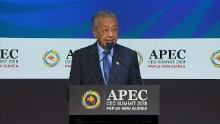 Dr M says globalisation needs fixing