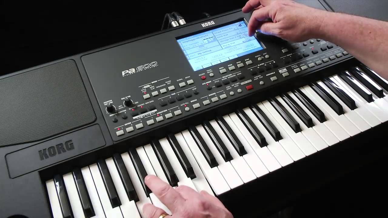 Download Korg Pa600 Video Manual -- Part 2: Sounds