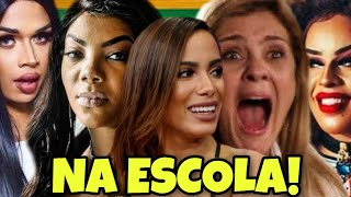 Baixar ANITTA, LUDMILLA, CARMINHA, GLORIA GROOVE, BETTINA E LIA CLARK NA ESCOLA!