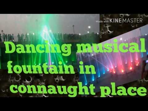 Musical fountain in new delhi C.P