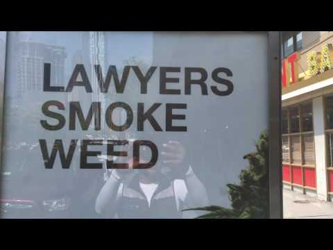 Lawyers Smoke weed