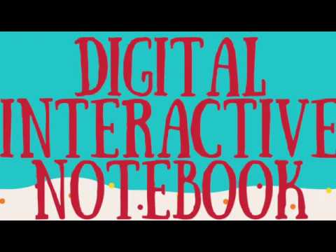 Digital Interactive Notebook - Introduction for Students
