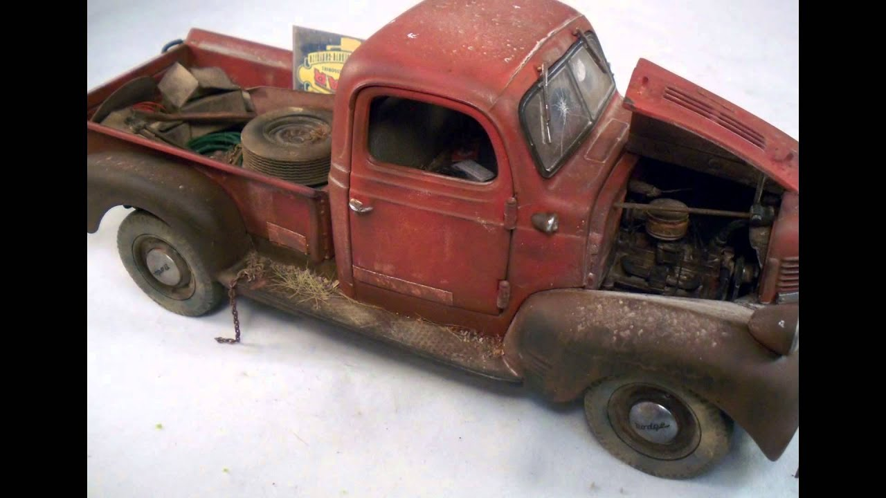 1941 Dodge Pickup Danbury Mint Custom Weathered 1/24 Junkyard ...