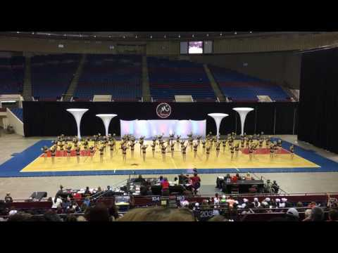 United High School Larriettes 2016 MA nationals pom