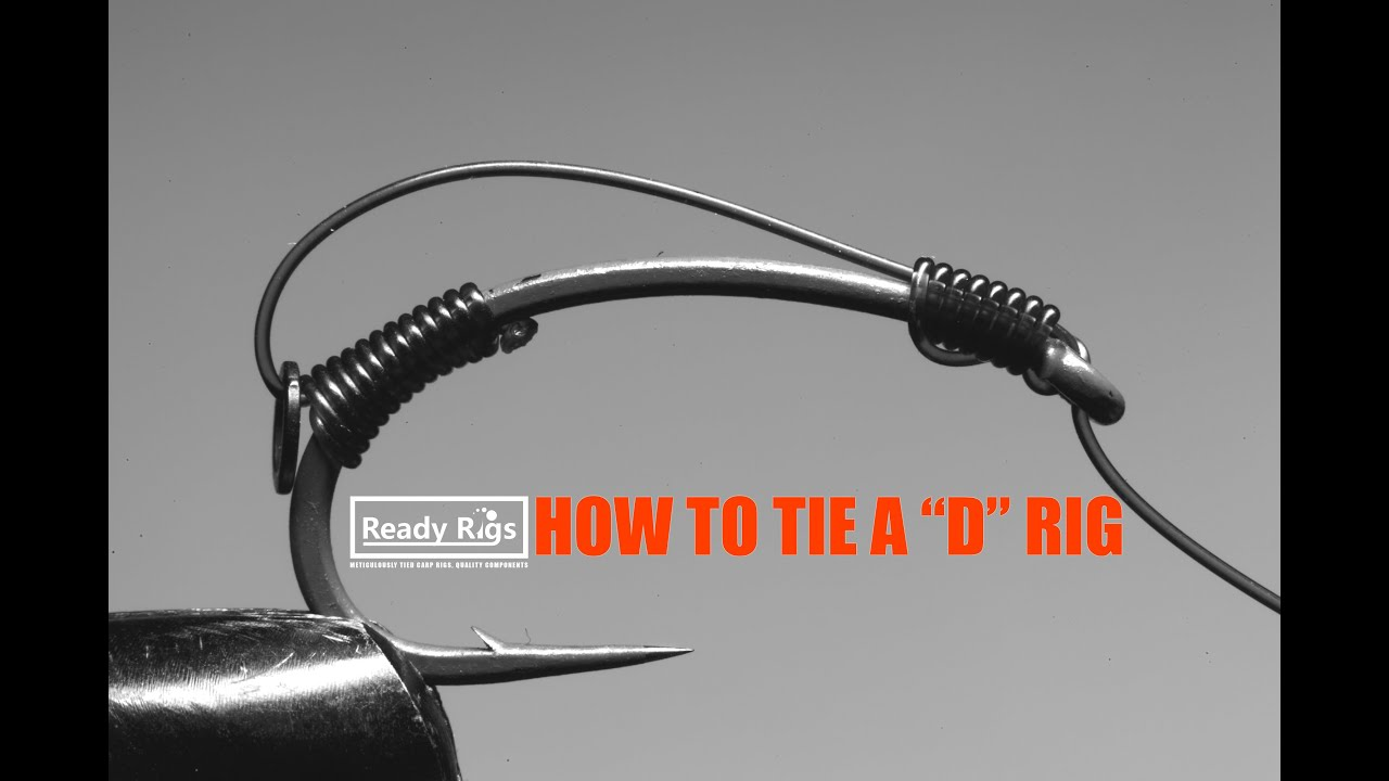 How to tie a d rig demonstration by ready rigs funnycat tv for A rig fishing