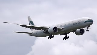 Cathay Pacific Boeing 777-367ER | Landing at Auckland Airport