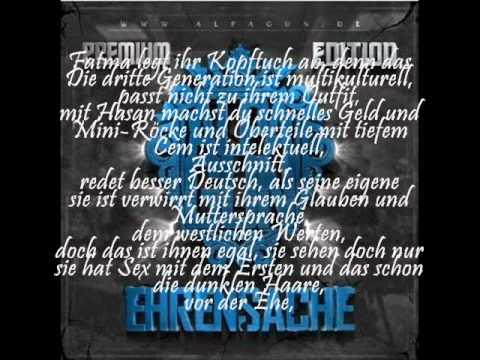 Alpa Gun Ausländer Songtext