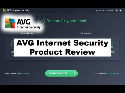 AVG Internet Security 2018 - PC Security Reviewed