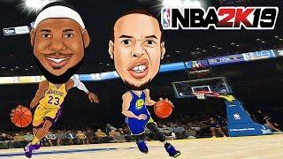 NBA 2K19 Team Stephen Vs. Team LeBron !    NBA 2K19 Gameplay    Konas2002