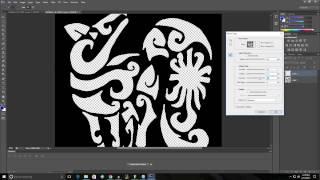 Wie man eine Niedrige Auflösung-logo in ein HD-Logo, Photoshop