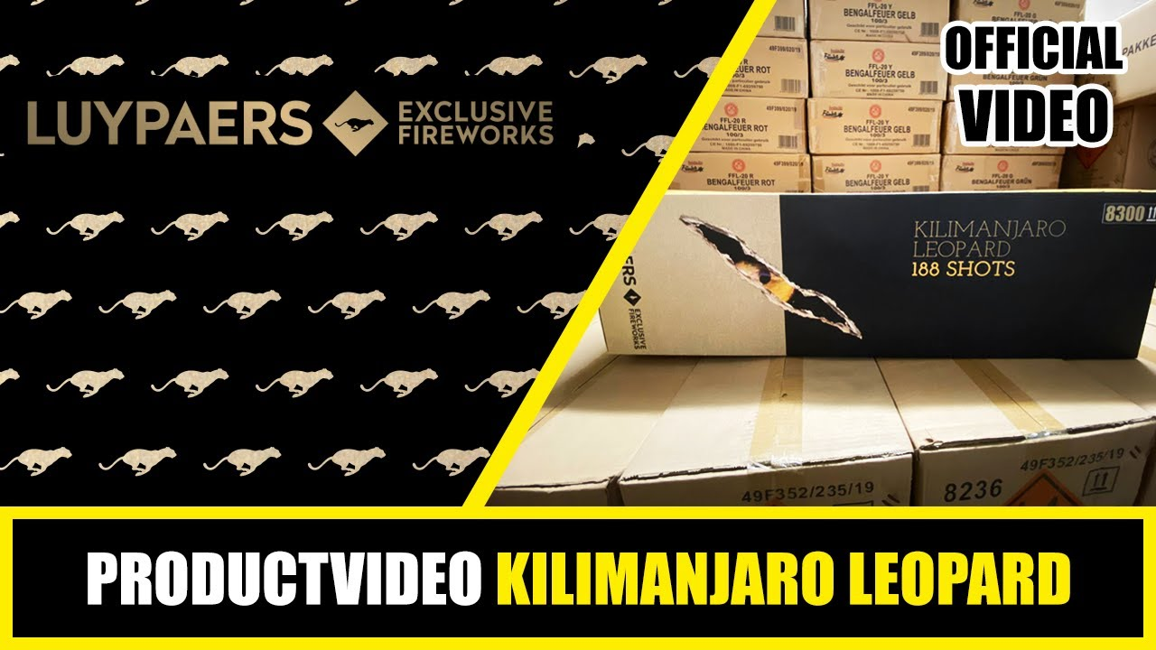 PRODUCT VIDEO | LUYPAERS | KILIMANJARO LEOPARD | 8300