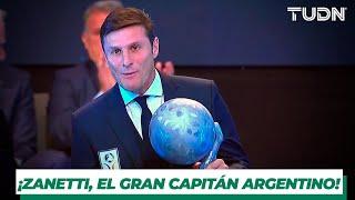 Javier Zanetti, el gran capitán argentino, clase 2019 del Salón de la Fama | TUDN