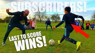 Last Subscriber To Score 1v1 Wins Football Boots!
