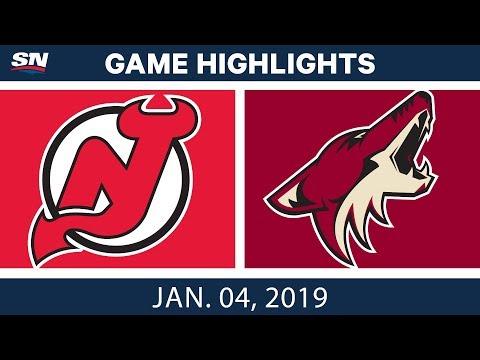NHL Highlights   Devils vs. Coyotes - Jan. 4, 2019