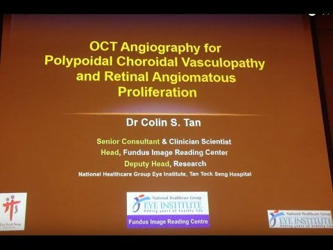 OCT A workshop Sing 2016 OCTA in PCV & RAP Colin Tan, Singapore