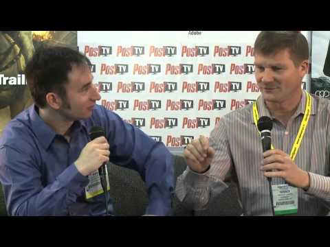 NAB 2012: Terry Curren of Burbank's AlphaDogs