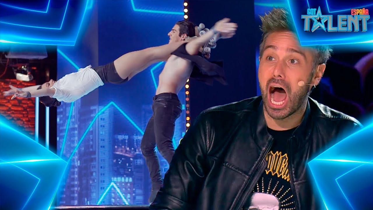 Download Las PELIGROSAS ACROBACIAS de estos dos hermanos | Audiciones 2 | Got Talent España 7 (2021)