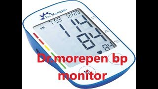 Dr. Morepen BP -02-XL monitor worth it