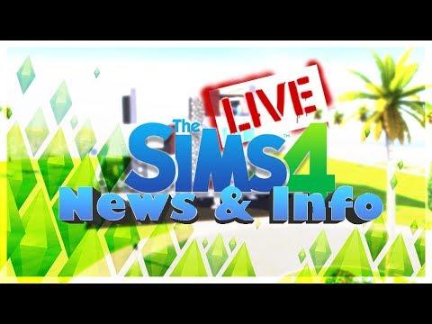 STIAMO PER SCOPRIRE QUALCOSA?THE SIMS 4 NEWS & INFO IN LIVE! thumbnail